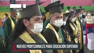 Se gradúan 53 profesionales de la URACCAN en la Costa Caribe