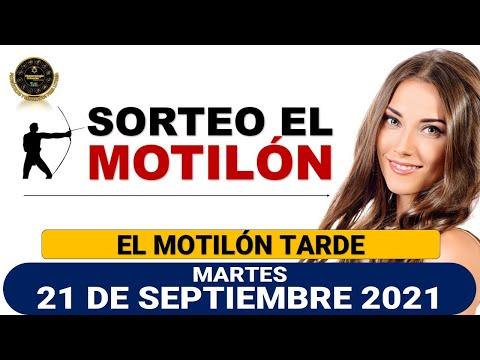 Resultado MOTILÓN TARDE del martes 21 de septiembre de 2021