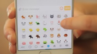 Get emojis on your Android phone