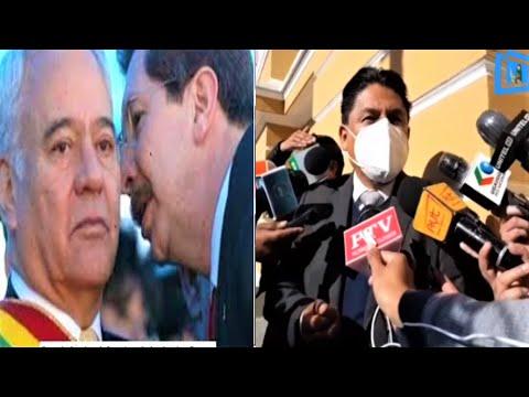 Bolivia: Ministro de Justicia indica que se insistirá en la extradición de Sánchez de Lozada (Goni)