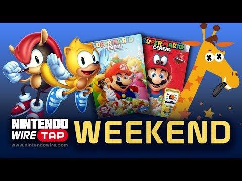 connectYoutube - Wiretap Weekend   Mario Cereal Ditches amiibo, Toys