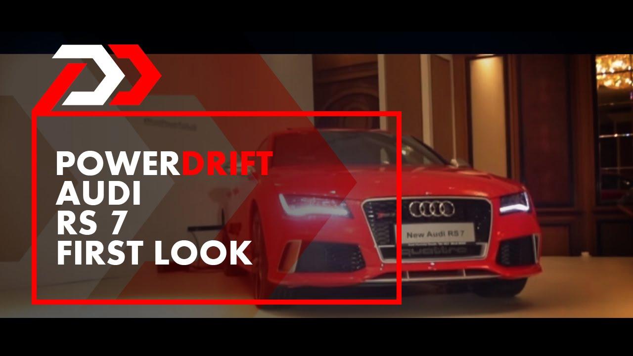 Audi RS7 : First Look : PowerDrift