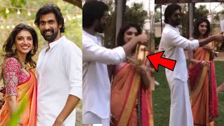 Rana Daggubati and Miheeka Bajaj Engagement Celebration Video | Rana Engagement With Miheeka - RAJSHRITELUGU