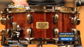 Tama 6x14 S.L.P. G-Bubinga SLP Snare Drum - Quick n' Dirty