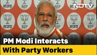 """Not Election-Winning Machine, BJP Works For People"": PM To Party Workers - NDTV"