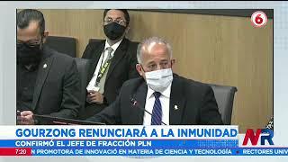 Gourzong renunciará a su inmunidad para enfrentar una acusación penal