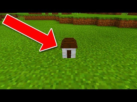 download youtube to mp3 how to live inside the worlds smallest house in minecraft pocket edition