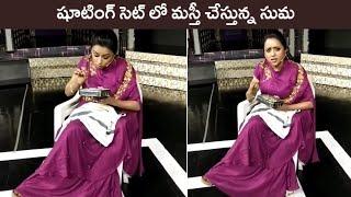 Anchor Suma Fun On Shooting Set   Behind The Scenes   Suma Kanakala   Rajshri Telugu - RAJSHRITELUGU