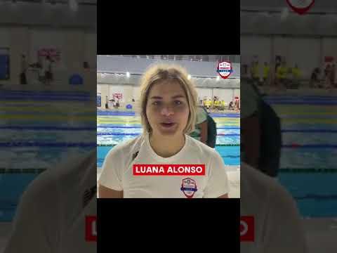 Paraguay en Juegos de Tokio 2020 - Luana Alonso (natación) marca récord nacional