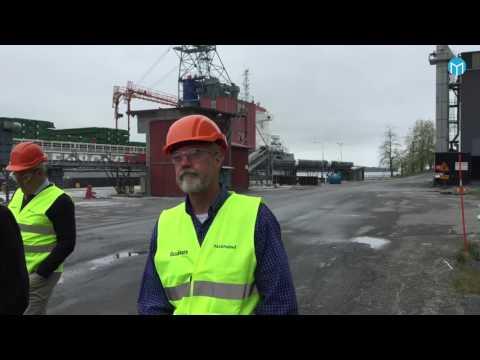 Ryssar på Kubal för att lära om miljöarbetet