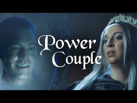 The Evil Queen & The Magic Mirror | Power Couple