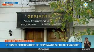 12 casos positivos de Coronavirus en un Geriátrico de San Cristobal