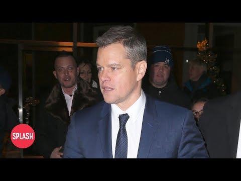 connectYoutube - Matt Damon Will Stop Sharing His Opinion | Daily Celebrity News | Splash TV
