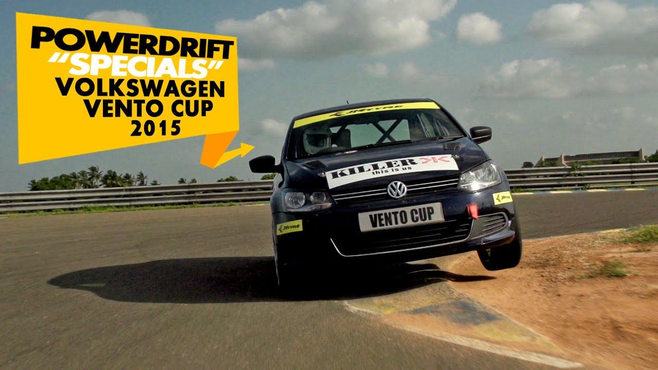 PowerDrift Specials: Volkswagen Vento Cup 2015