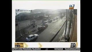 Automóviles protagonizan choque por falta de semáforo