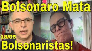 Bolsonaro mata bolsonaristas! Brasil se levantará! Viva Zélia Duncan e Argentina! GB x Venezuela