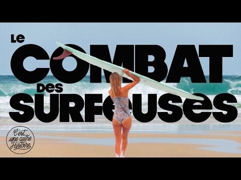 Les filles ne savent pas surfer ? - Histoire du surf féminin