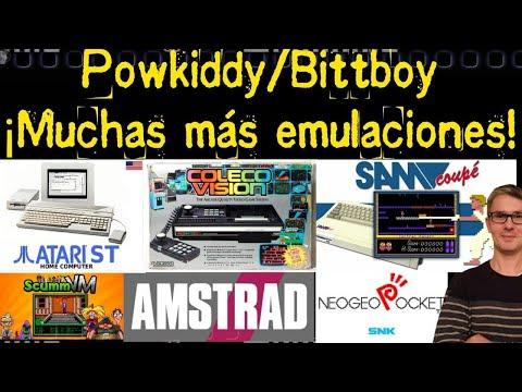 Powkiddy & Bittboy ¡Muchas más emulaciones!
