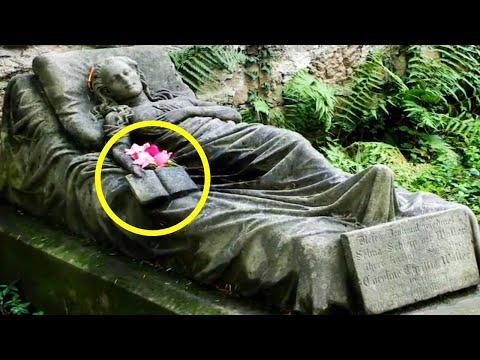 Grob djevojke (16) je misterija punih 150 godina: Iz ruke od kamena cvjeta cvijeće!
