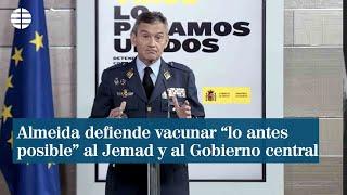 Almeida defiende vacunar