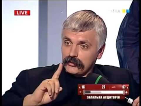 Дмитрий Корчинский неожиданно полюбил русский народ
