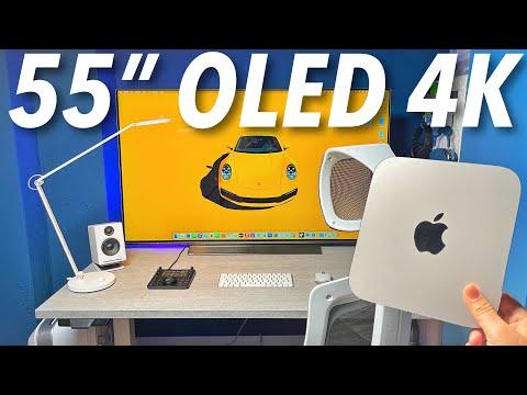 """Mac Mini + OLED 55"""" è una FOLLIA?  …"""