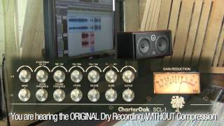 Compressing Piano and Saxophone with the Charter Oak SCL-1 Compressor