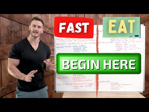 16:8 Intermittent Fasting - EVERYTHING You Need to Get Started