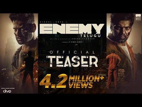 Enemy (Telugu) - Official Teaser | Vishal,Arya | Anand Shankar | Vinod Kumar | Thaman S , Sam CS