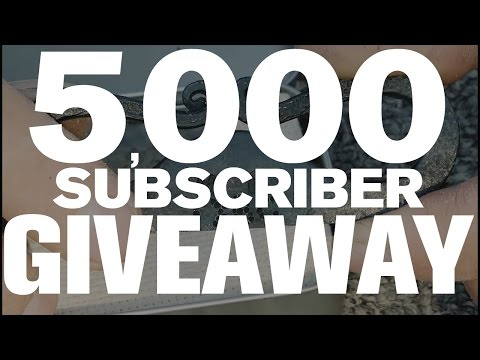 ***CLOSED*** 5,000 SUBSCRIBER GIVEAWAY!!! ***CLOSED***
