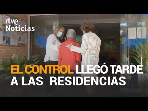 UN INFORME del Gobierno dice que el VIRUS ya estaba en las RESIDENCIAS antes de aislarlas | RTVE