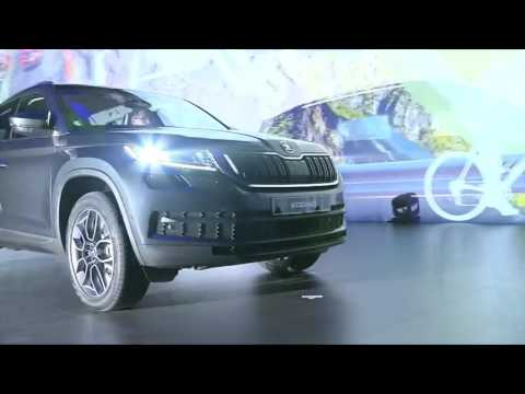 ŠKODA KODIAQ World Premiere Highlights