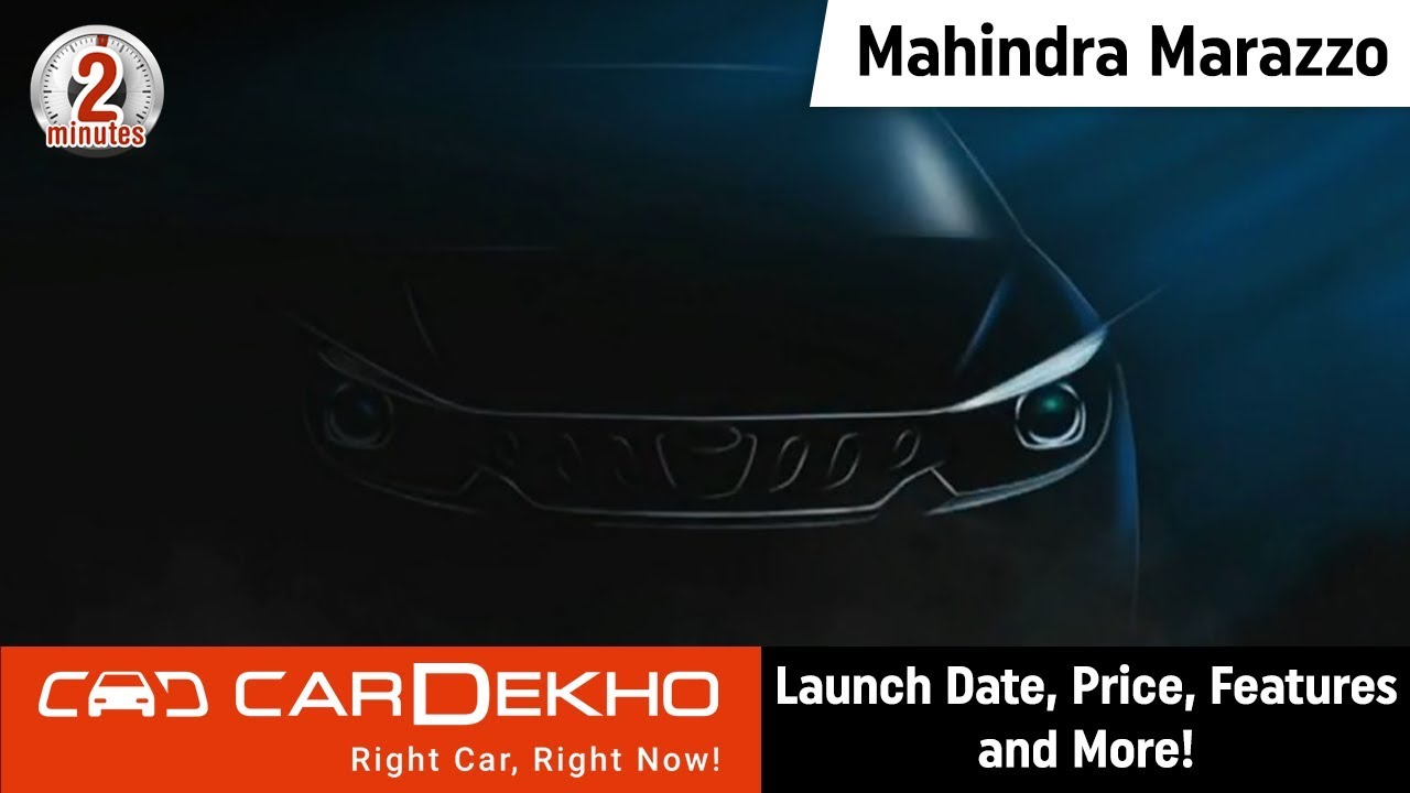 Mahindra Marazzo (U321) MPV | Launch Date, Price, Features and More! | #In2Mins