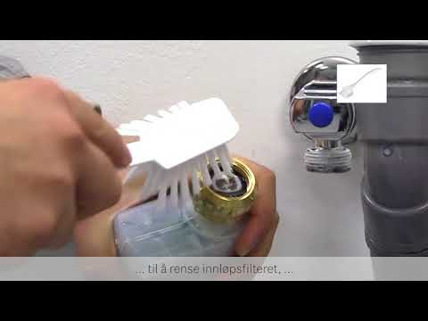 Hvordan sjekke at vaskemaskinen tar inn vann