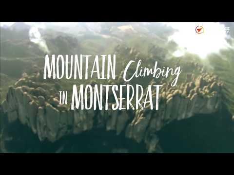 Mountain climbing in Montserrat