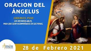 Ángelus De Hoy l Domingo 28 Febrero de 2021 l Oración a María l Padre Carlos Yepes
