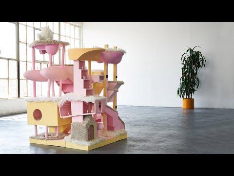 Bureau Spectacular designs architecture model that doubles as cat tower | Architecture | Dezeen
