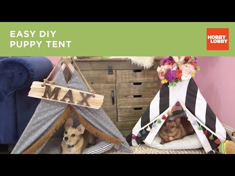 No-Sew Pet Tent