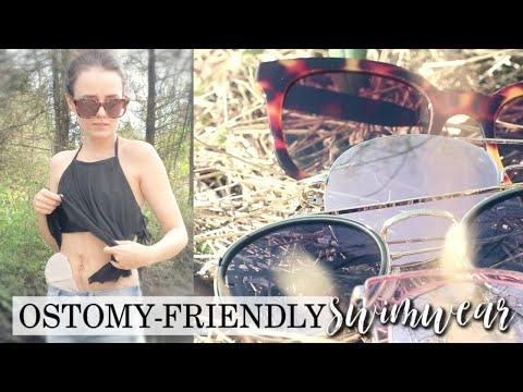 Ostomy-Friendly Swimwear with Sojos Vision Sunglasses! | Let's Talk IBD