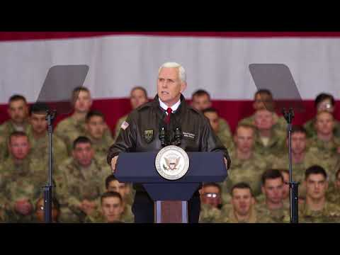DFN: Vice President Pence Remarks to the Troops, AFGHANISTAN, 12.21.2017