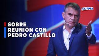 ????????Guzmán: Le he dicho a Castillo que ninguna persona seria lo acompañará si sigue al lado de Cerrón