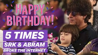 Birthday Special | 5 times King Khan and Abram broke the internet | Checkout to know more | - TELLYCHAKKAR