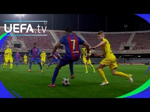 Amazing Barcelona solo goal - Jordi Mboula - Youth League highlights