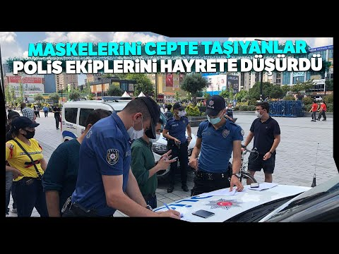 Esenyurt'ta Israrla Maske Takmayanlara Ceza Yağdı