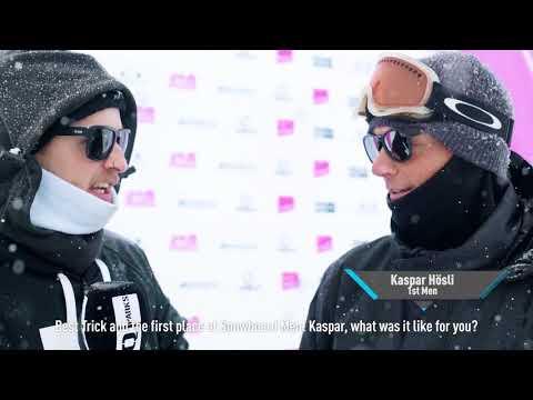 Oakley Schilthorn Open 2018 - Snowboard Recap