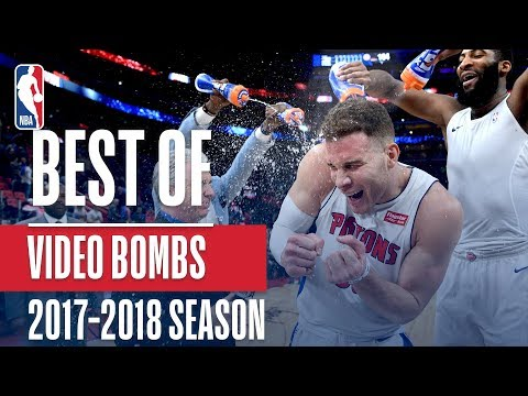 Best NBA Video Bombs from the 2017-2018 NBA Season!