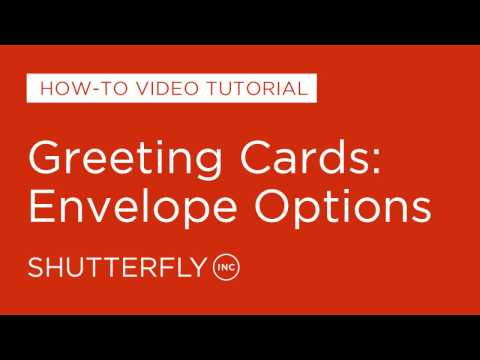 Greeting Cards: Envelope Options