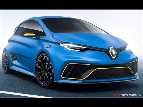 Car Design: 2017 Renault ZOE e-Sport concept