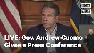 New York Gov. Cuomo Delivers COVID-19 Update | LIVE | NowThis