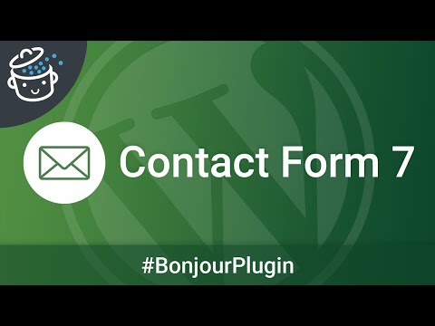 Bonjour Plugin #5 🔌  - Contact Form 7, LE plugin de formulaires de contact